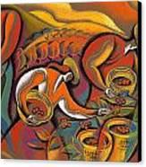 Harvest  Canvas Print by Leon Zernitsky