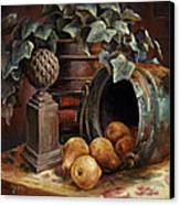 Harvest Time Canvas Print by Gini Heywood