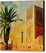 Hassan Tower Canvas Print