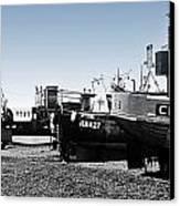 Hastings Fleet Canvas Print by Sharon Lisa Clarke