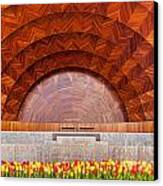 Hatch Memorial Shell Canvas Print by Susan Cole Kelly