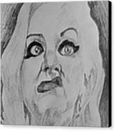 Hatchet Face Canvas Print by Jeremy Moore
