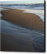 Hatteras Tidal Pools Canvas Print by Steven Ainsworth