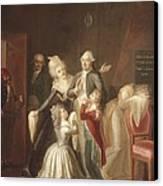 Hauer, Jean Jacques 1751-1829. Louis Canvas Print by Everett