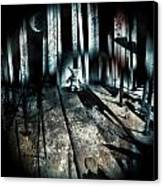 Haunted 9 Canvas Print by John Magnet Bell