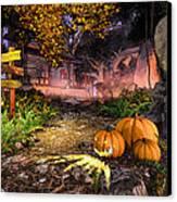 Haunted House Canvas Print by Marina Likholat
