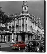 Havana Red Canvas Print by James Brunker