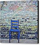 Have A Seat Canvas Print by Kelly Kitchens