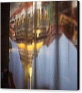 Haw Phra Phuttabhat Chamber - Wat Phra That Lampang Luang - Lampang Thailand - 01131 Canvas Print by DC Photographer