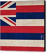 Hawaii State Flag  Canvas Print by Pixel Chimp