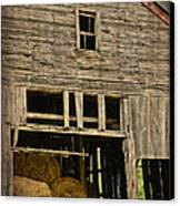Hay For Sale Canvas Print by Alana Ranney