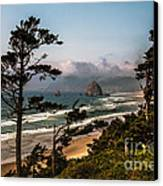 Haystack Framed Canvas Print by Robert Bales
