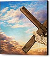 He Has Risen Canvas Print by Darren Fisher