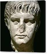 Head Of Nero Canvas Print