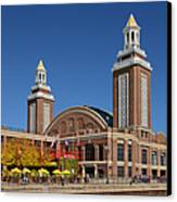 Headhouse Chicago Navy Pier Canvas Print by Christine Till