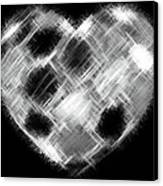 Heartline 10 Canvas Print by Will Borden