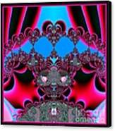 Hearts Ballet Curtain Call Fractal 121 Canvas Print