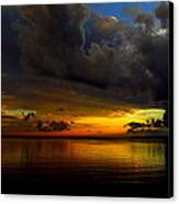 Heaven And Hell Canvas Print by Stephen Melcher