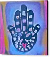 Heavenly Hamza 1 Canvas Print by Tony B Conscious