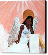 Heavenly Soul Canvas Print by Edward Fuller