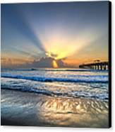 Heaven's Door Canvas Print by Debra and Dave Vanderlaan