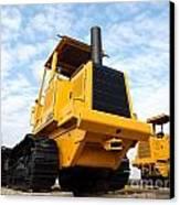 Heavy Construction Equipment Canvas Print