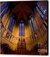 Heinz Memorial Chapel Pittsburgh Pennsylvania Canvas Print by Amy Cicconi