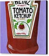 Heinz Tomato Ketchup Canvas Print
