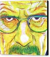 Heisenberg Canvas Print by Kyle Willis