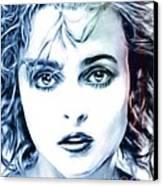 Helena Bonham-carter Canvas Print