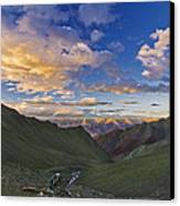 Hemis Sunset Canvas Print by Aaron Bedell