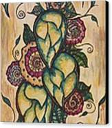 Henna Hops Study 1 Canvas Print