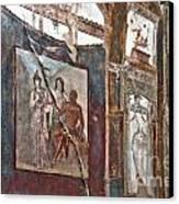 Herculaneum Wall Canvas Print by Marion Galt
