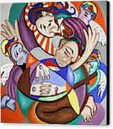 Here My Prayer Canvas Print by Anthony Falbo