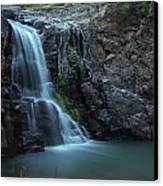Hiawatha Falls Canvas Print by Aaron Bedell