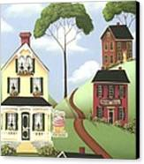 Hickory Grove Canvas Print by Catherine Holman