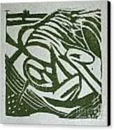 Hidden Horse Canvas Print