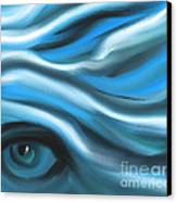 Hidden In Your Soul Canvas Print by Hilda Lechuga