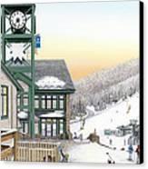 Hidden Valley Ski Resort Canvas Print by Albert Puskaric