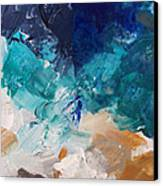 High As A Mountain- Contemporary Abstract Painting Canvas Print