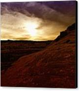 High Desert Clouds Canvas Print
