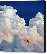 High In The Halls Of Freedom Canvas Print