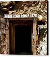 High Peak Mine Canvas Print by Denise Mazzocco