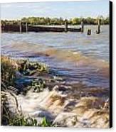 High Tide Canvas Print by Dawn OConnor