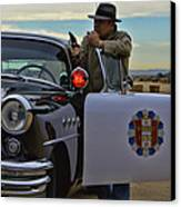 Highway Patrol 6 Canvas Print by Tommy Anderson