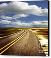 Highway Run Canvas Print
