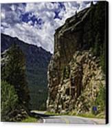 Highway To Heaven Canvas Print by Tom Wilbert