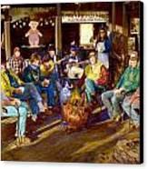 Hillbilly Happy Hour Canvas Print