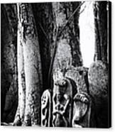 Hindu Shrine Canvas Print