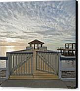 His Mercies Begin Fresh Each Morning Canvas Print by Bonnie Barry